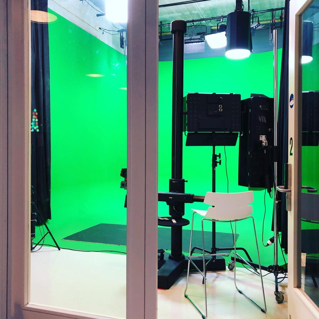 Pixel Universe Studio 2 Greenscreen Cyclorama